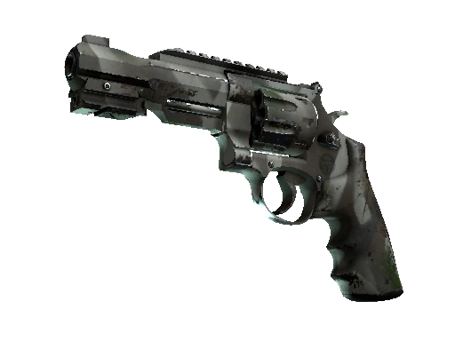R8 Revolver | Bone Mask Well-Worn