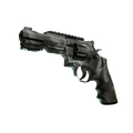 R8 Revolver | Bone Mask <br>(Well-Worn)