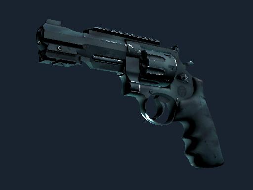 Скин Револьвер R8   Брызги воды (После полевых испытаний)
