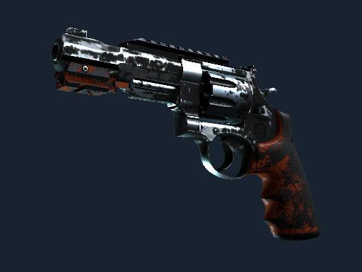 Скин Револьвер R8 | Нитро (Закаленное в боях)