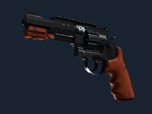 Скин Револьвер R8 | Нитро (После полевых испытаний)