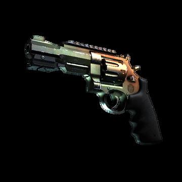 Револьвер R8 | Amber Fade