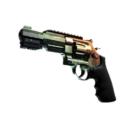 R8 Revolver | Amber Fade (Well-Worn)