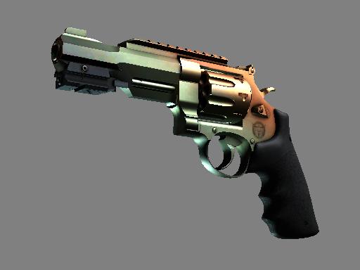 Револьвер R8 | Янтарный градиент (Прямо с завода)