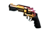R8 Revolver | Fade (Well-Worn)