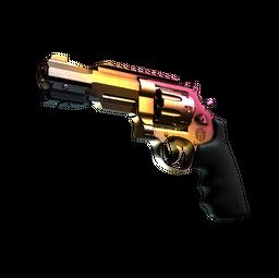 StatTrak™ R8 Revolver | Fade (Minimal Wear)