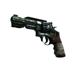 StatTrak™ R8 Revolver | Survivalist (Battle-Scarred)