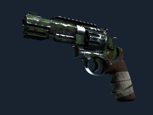 Скин Револьвер R8 | Выживший (Закаленное в боях)