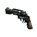 StatTrak™ R8 Revolver | Survivalist <br>(Battle-Scarred)