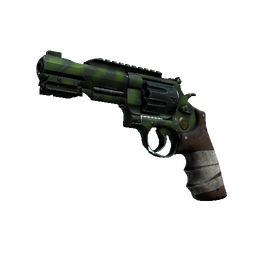 StatTrak™ R8 Revolver | Survivalist (Well-Worn)