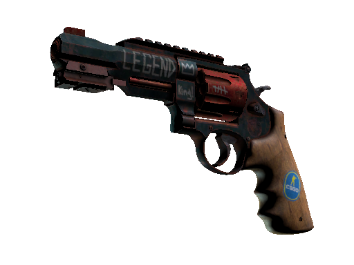 StatTrak™ R8 Revolver   Junk Yard (Field-Tested)