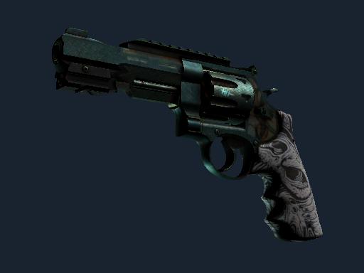 Скин StatTrak™ Револьвер R8 | Кованая кость (Закалённое в боях)