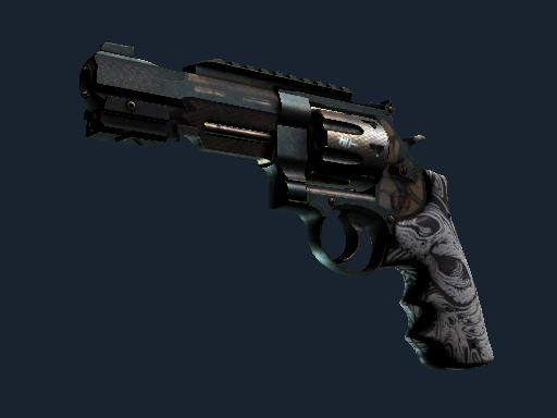 Скин StatTrak™ Револьвер R8 | Кованая кость (После полевых испытаний)