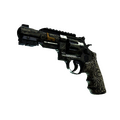 StatTrak™ R8 Revolver | Llama Cannon <br>(Battle-Scarred)