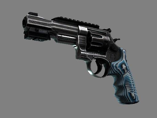 Скин Револьвер R8 | Хватка (Закаленное в боях)