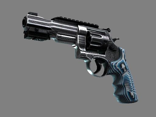 Скин Револьвер R8 | Хватка (После полевых испытаний)