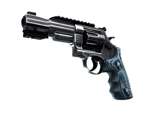 StatTrak™ R8 Revolver | Grip (Well-Worn)