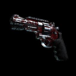 StatTrak™ R8 Revolver   Crimson Web (Battle-Scarred)