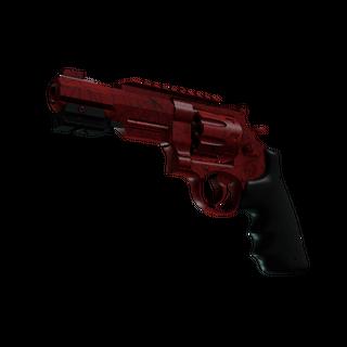 StatTrak™ R8 Revolver | Crimson Web (Minimal Wear)