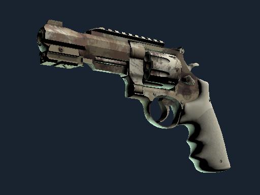 R8 Revolver   Desert Brush (Battle-Scarred)
