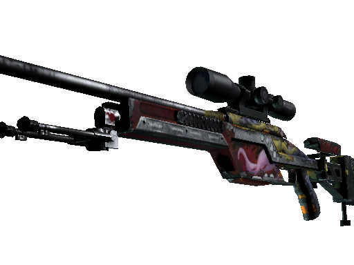SSG 08 | Bloodshot (Battle-Scarred)