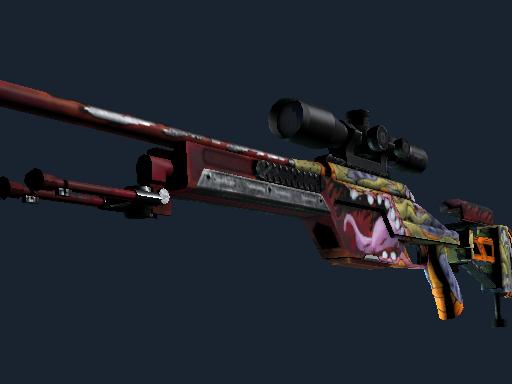 SSG 08 | Bloodshot (Minimal Wear)
