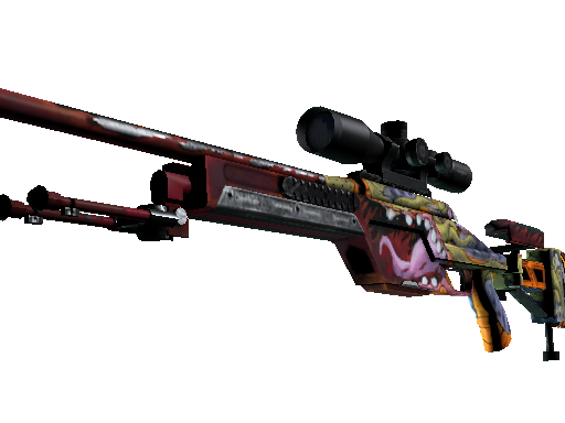 StatTrak™ SSG 08 | Bloodshot (Battle-Scarred)
