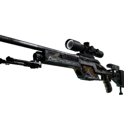 StatTrak™ SSG 08 | Deaths Head (Battle-Scarred)