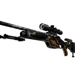 StatTrak™ SSG 08 | Death's Head (Well-Worn)