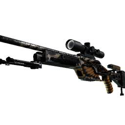SSG 08 | Deaths Head (Well-Worn)