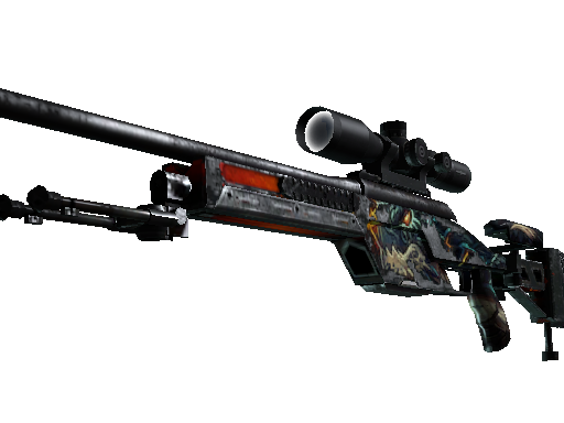 SSG 08 | Dragonfire Battle-Scarred