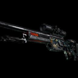 SSG 08 | Dragonfire (Battle-Scarred)