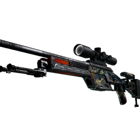 SSG 08 | Dragonfire (Battle-Scarred)