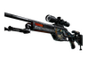 StatTrak™ SSG 08 | Dragonfire (Battle-Scarred)