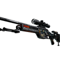 SSG 08 | Dragonfire <br>(Battle-Scarred)