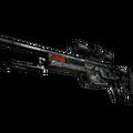 StatTrak™ SSG 08 | Dragonfire <br>(Battle-Scarred)