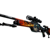 StatTrak™ SSG 08 | Dragonfire <br>(Field-Tested)