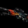 SSG 08 | Dragonfire <br>(Well-Worn)