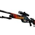 StatTrak™ SSG 08 | Dragonfire <br>(Well-Worn)