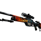 StatTrak™ SSG 08 | Dragonfire (Well-Worn)