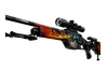 SSG 08 | Dragonfire (Well-Worn)