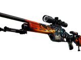 StatTrak™ SSG 08 | Dragonfire (Factory New)