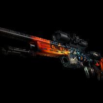StatTrak™ SSG 08 | Dragonfire (Minimal Wear)