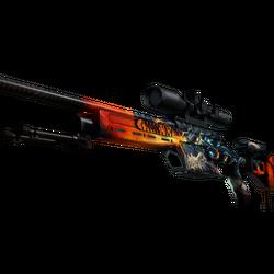 SSG 08 | Dragonfire (Factory New)