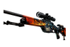 StatTrak™ SSG 08 | Dragonfire (Factory New)