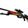 SSG 08 | Dragonfire <br>(Minimal Wear)