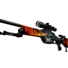 StatTrak™ SSG 08 | Dragonfire (Minimal Wear)