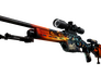Skin SSG 08 Dragonfire