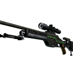 SSG 08 | Necropos (Well-Worn)
