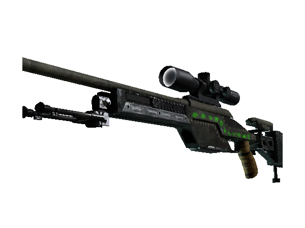 StatTrak™ SSG 08 | Necropos (Well-Worn)